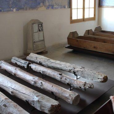 A l'intérieur de la chapelle fusillés - Mont Valérien